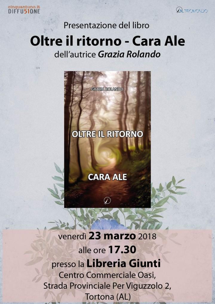 Presentazione: Oltre il ritorno – Cara Ale