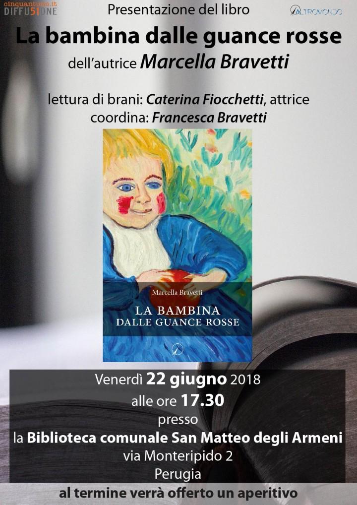 Presentazione romanzo La bambina dalle guance rosse
