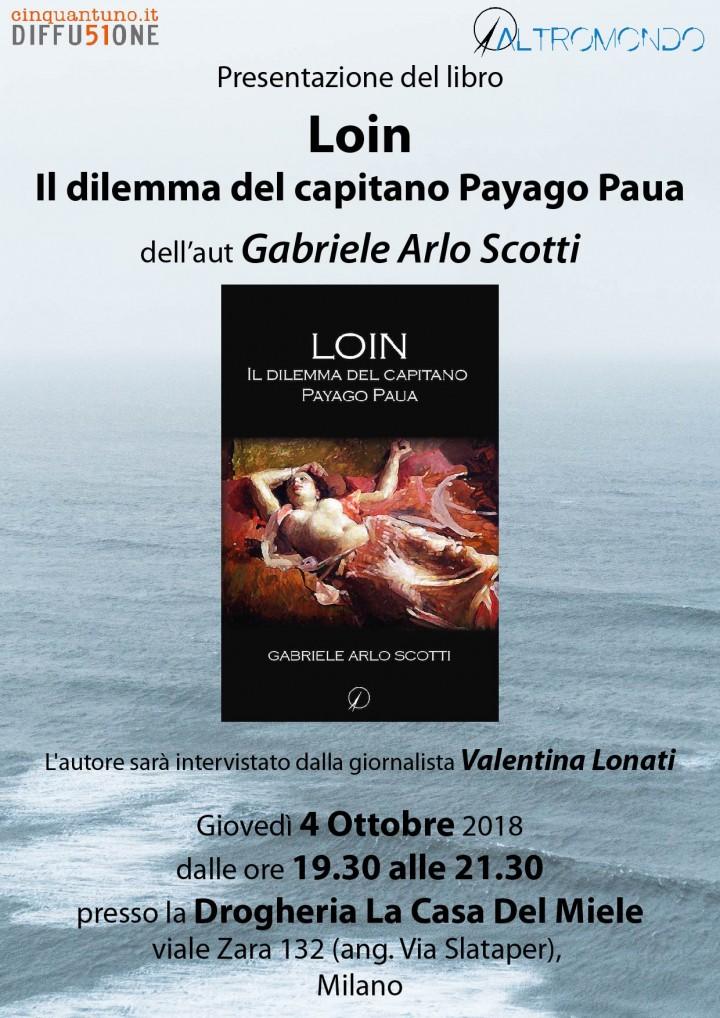 Presentazione: Loin – il dilemma del capitano Payago Paua