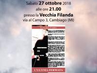 Presentazione del romanzo L'Ultima Fermata