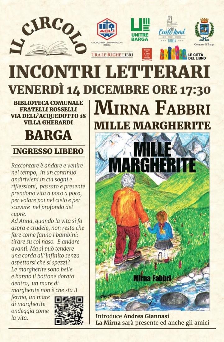 Presentazione del libro Mille Margherite