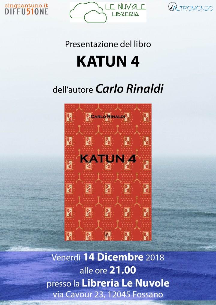 """Presentazione del romanzo """"Katun 4"""""""