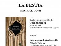"""Presentazione del libro """"La bestia"""""""