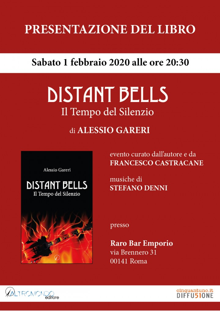 """Presentazione del libro """"Distant Bells. Il Tempo del Silenzio"""""""