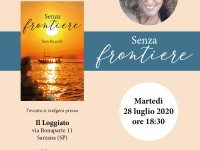 """Aperitivo con l'autrice di """"Senza frontiere"""" Sara Beyerle"""