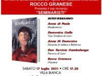 """Presentazione libro: """"Seminaristi"""" di Rocco Granese"""