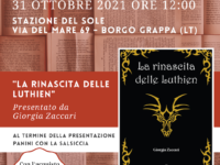 """Presentazione libro: """"La rinascita delle Luthien"""" di Giorgia Zaccari"""
